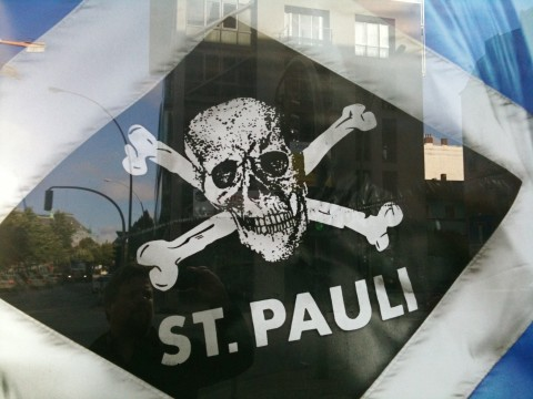 HSV FC St. Pauli Abendblatt Werbung