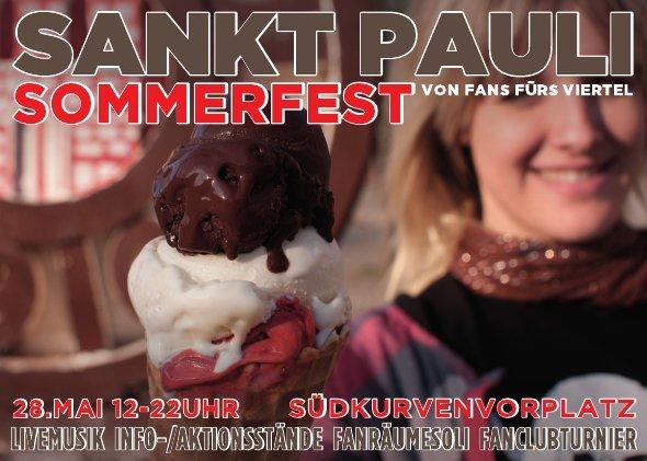 Sommerfest St. Pauli - Flyer