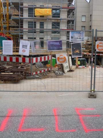 SOS St. Pauli fordert Baustopp